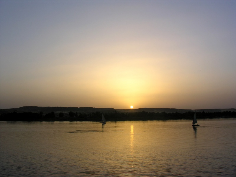 Sunset Nile