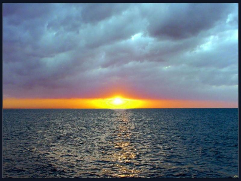 Sea,sun and sky