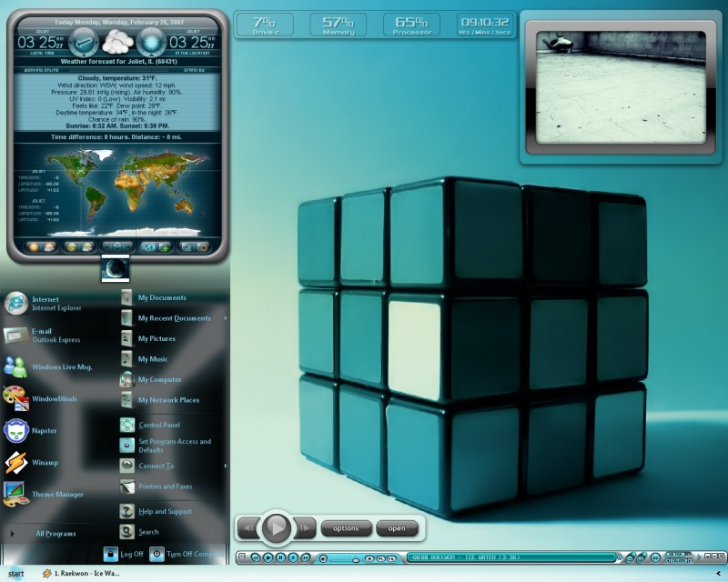 Rubix Blue