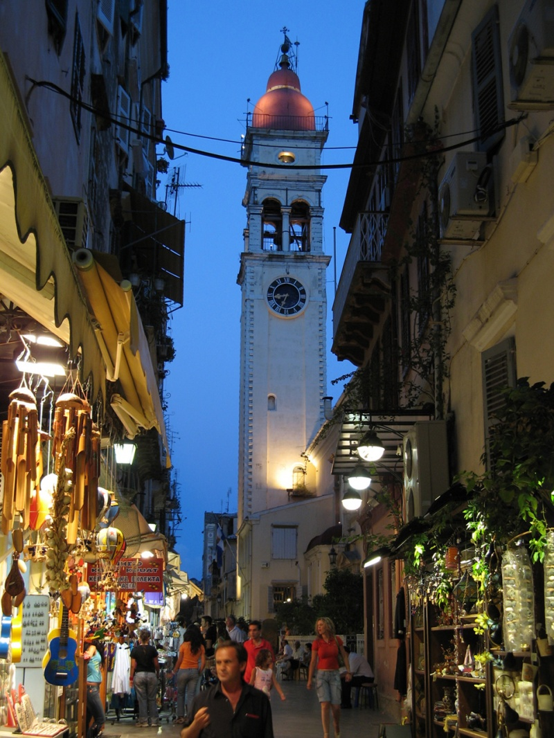 Kerkyra by night