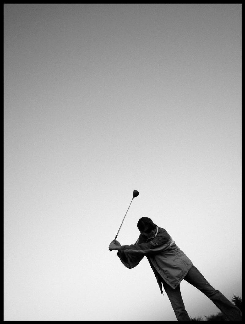 The Lone Golfer