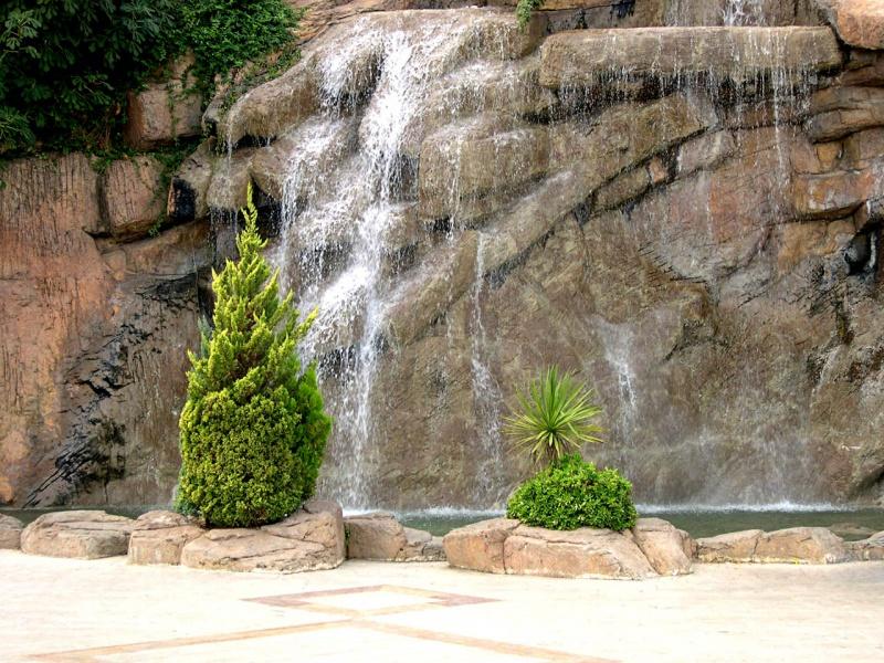Waterfall Alanya 01
