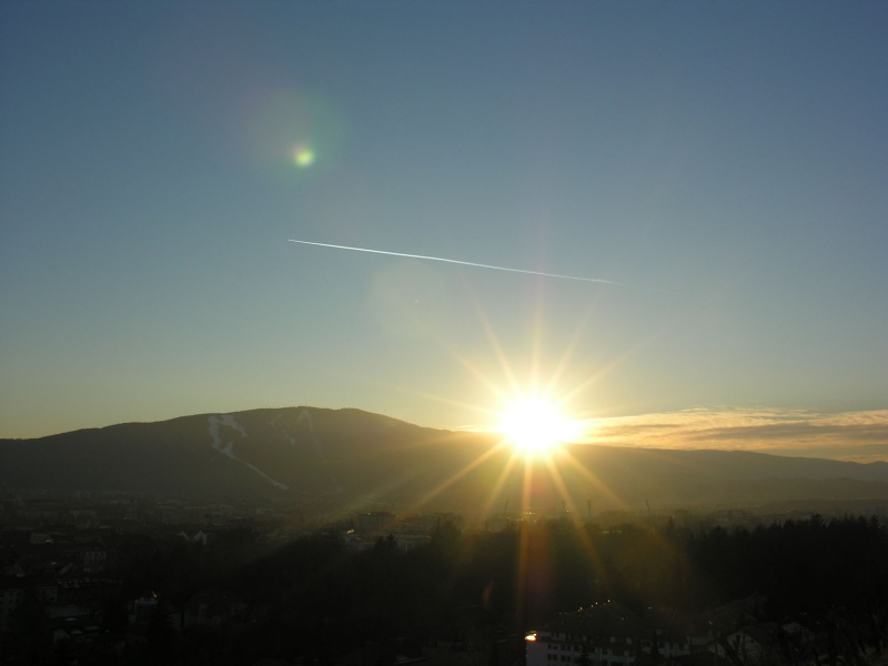 Sunset in Maribor