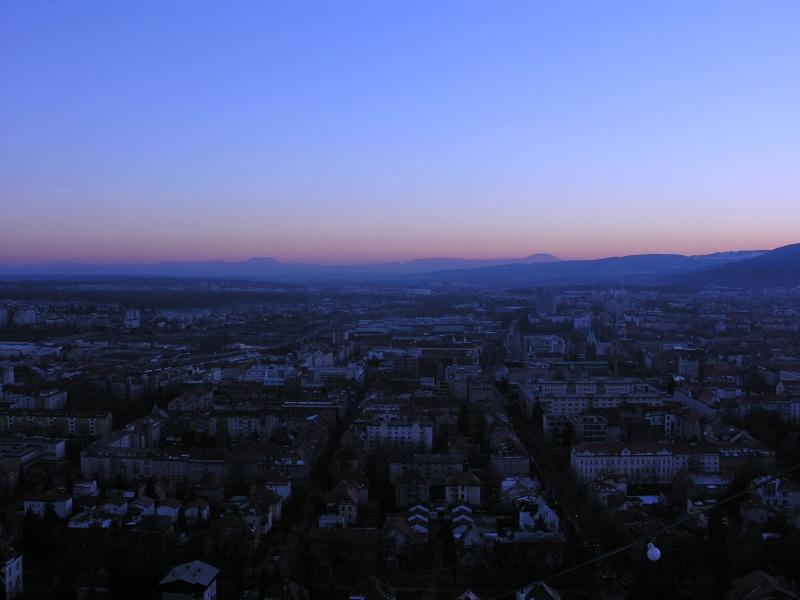 Evening in Maribor