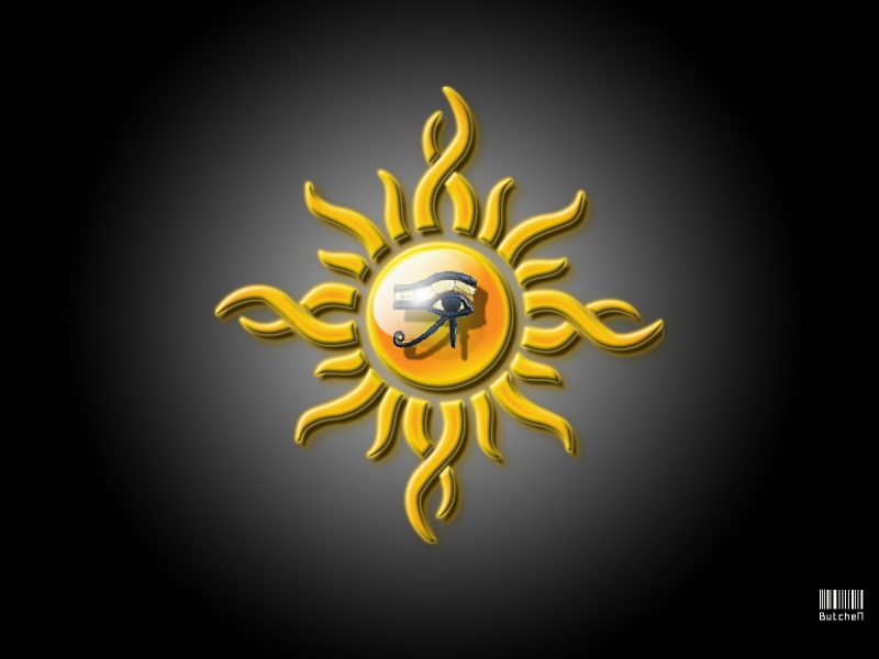 eye of ra tribal sun