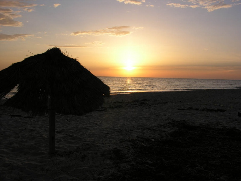 Sunset  Djerba 075