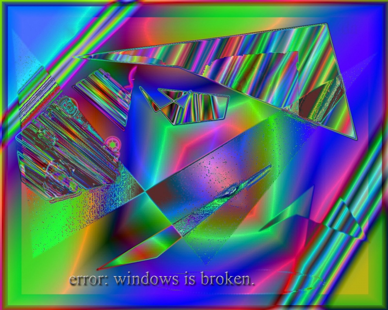 ERROR WINDOWS