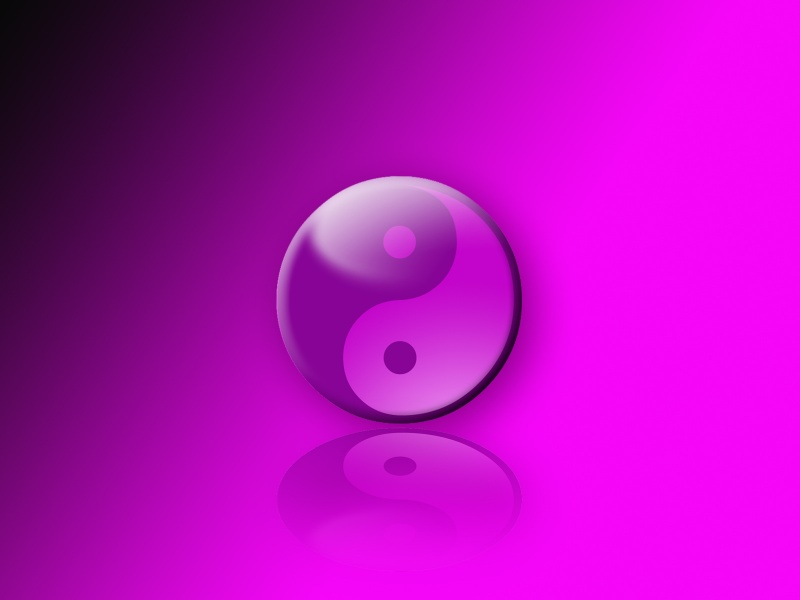 yen yang purple
