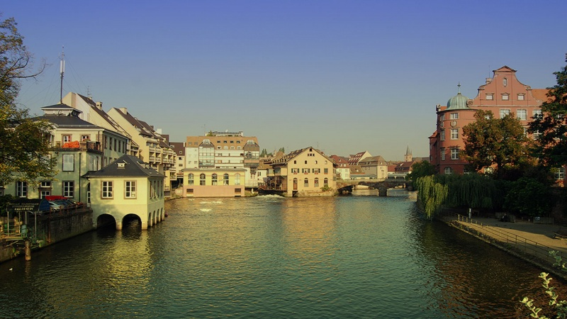The River Ille,Strasbourg