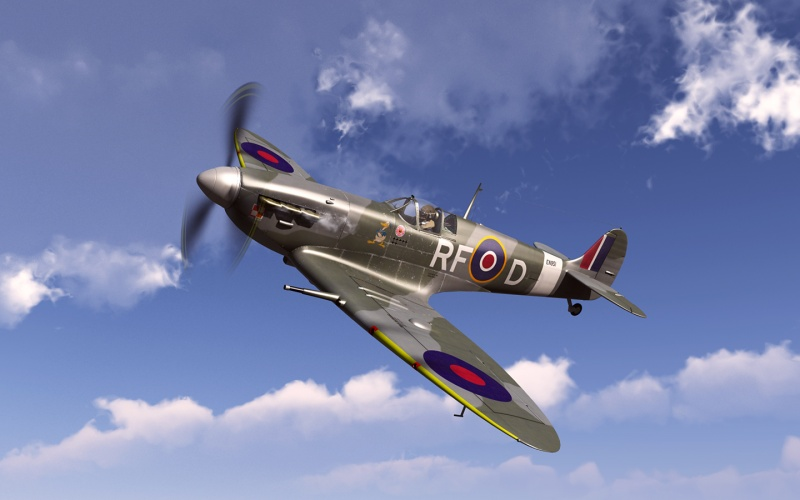 Division 303 Spitfire Wide Screen