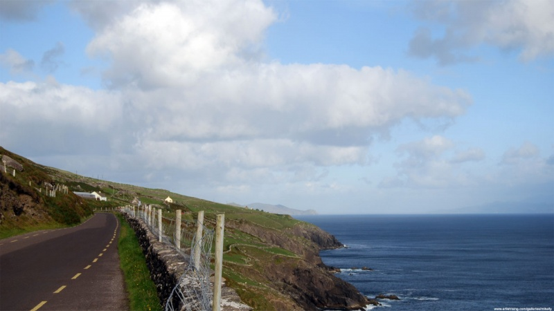 Driving the Dingle Peninsula