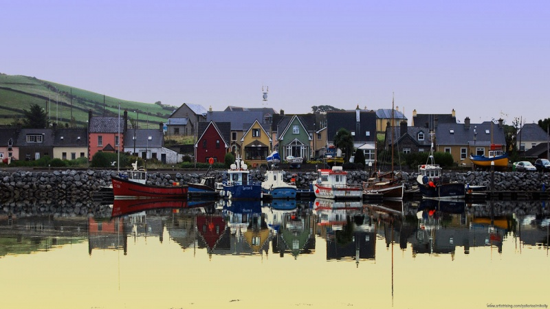 Early Morning in Dingle harbor