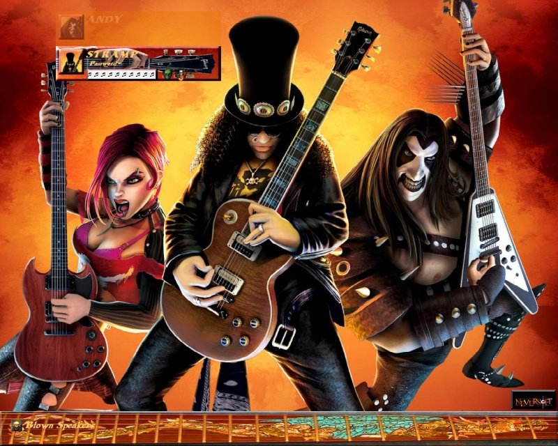 Guitar Hero3_Legends of Rock