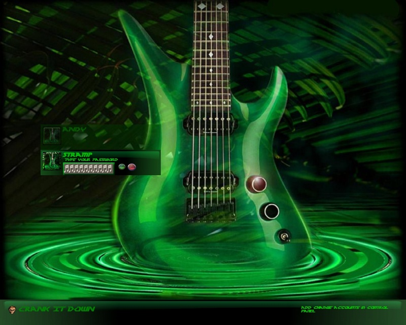 Sweet Green Guitar