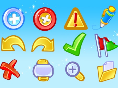 Free Vector Application Basic Icons