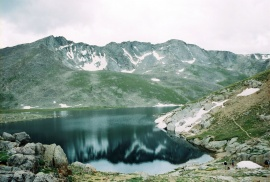 Glacial Pond ( Loveland Pass CO.)