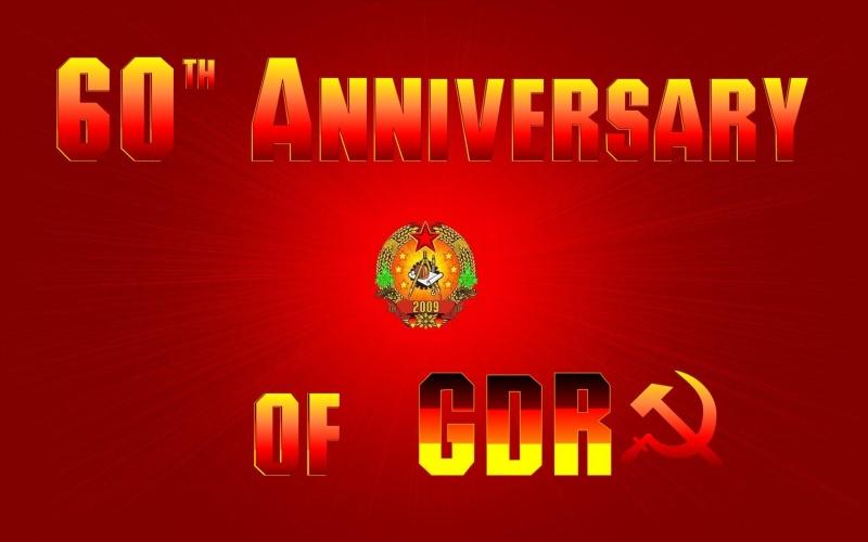 GDR Anniversary