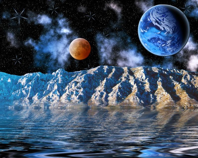 Blue Moon Scene