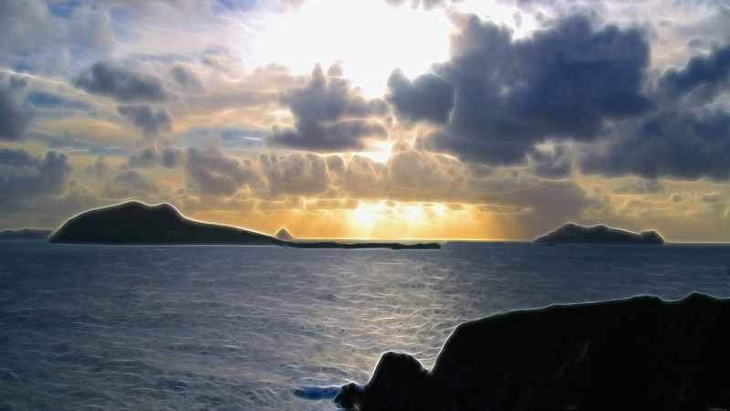 Storms over Blasket