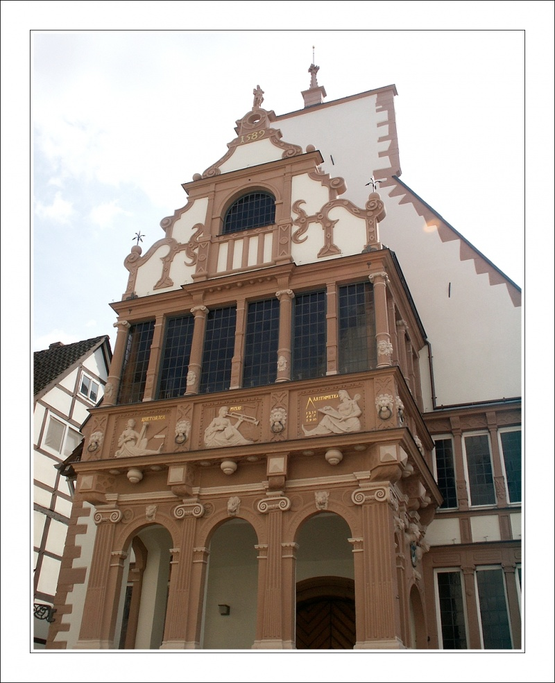 Rathauslaube - Lemgo/Germany