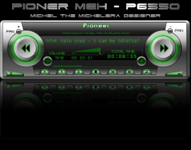 Pioneer MEH P-6550