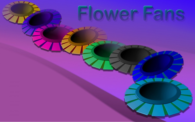 Flower Fans