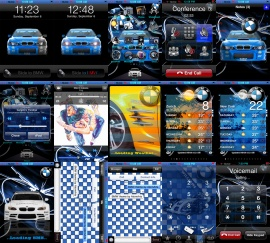 BMW iPhone theme