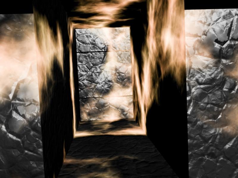 Stone Door Open