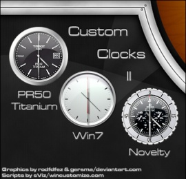 Custom Clock II_gadgets