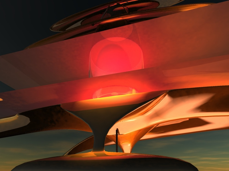 massive sunset