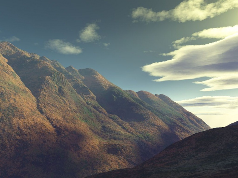 Mountain Sunset LSV