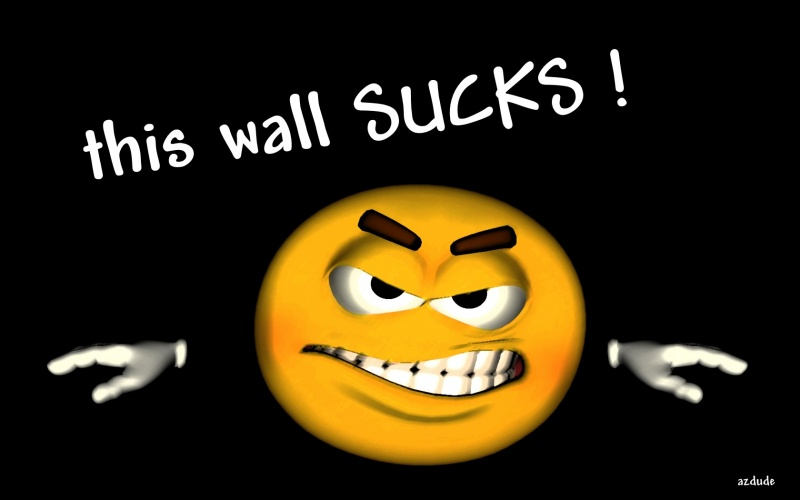 this wall SUCKS !