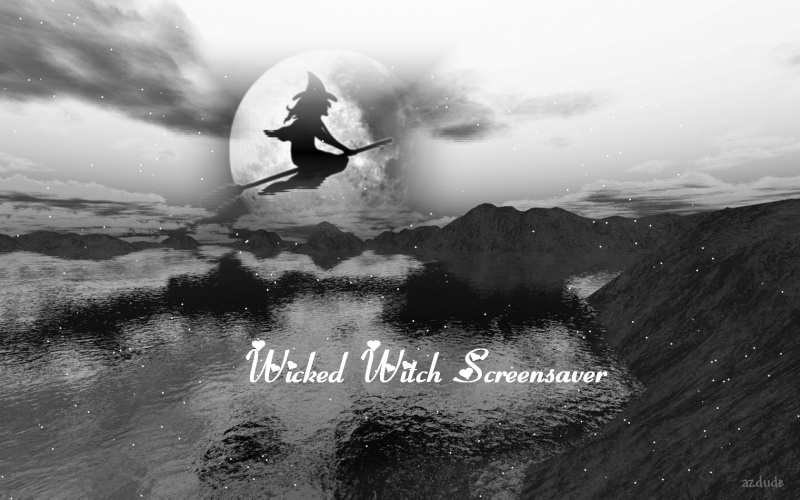 Wicked Witch Screensaver