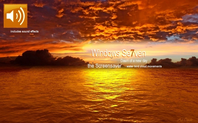 Windows Se7ven Screensaver