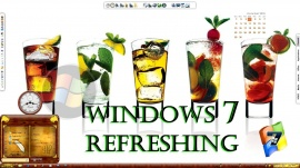 windows7 .. refreshing