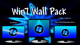 Win7 Wall 6 pack + bonus wall