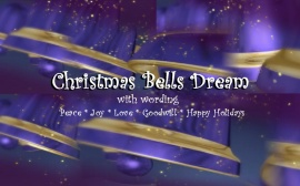 Christmas Bells Dream wording