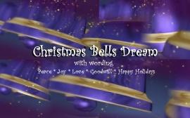 Christmas Bells Dream wording