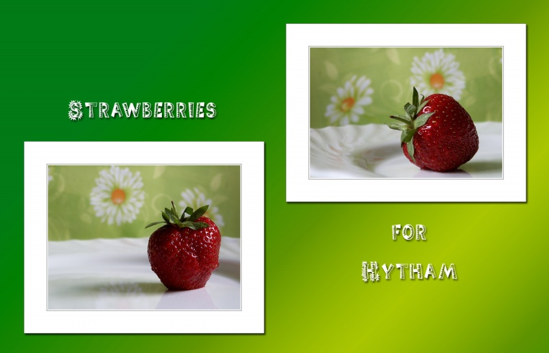 Strawberries for Hytham