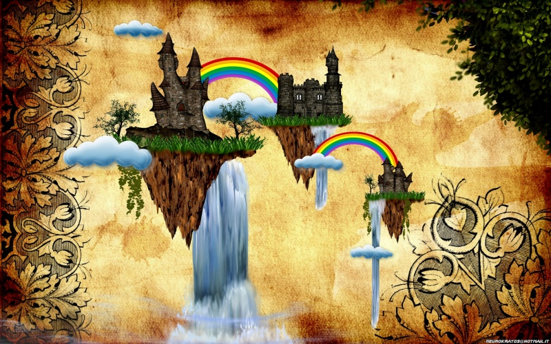 castles and rainbows