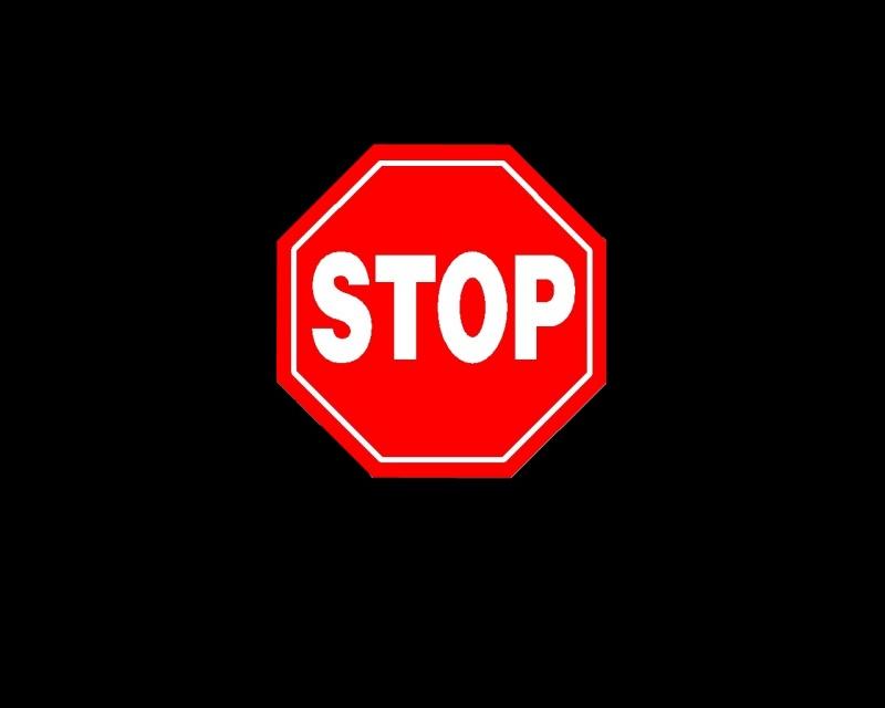 STOP _ Logon vista