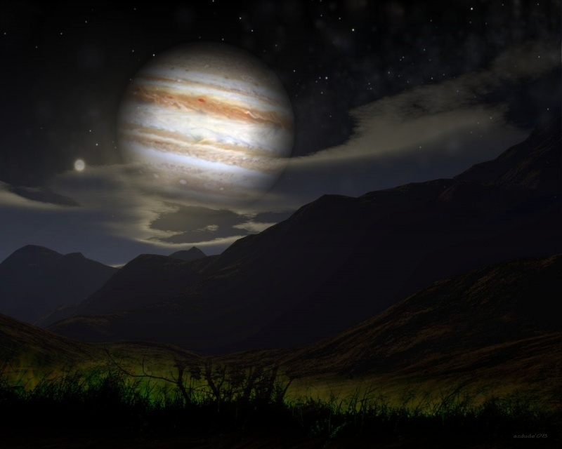 Jupiter pass by