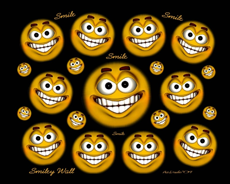 Smiley Wall w_wording