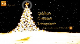 GoldStar Christmas Screensaver w music