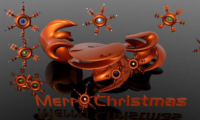 3D Christmas Screensaver
