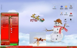 Mr. Snowman screenie