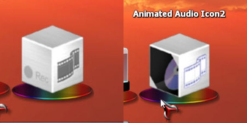 Animated Music Icon