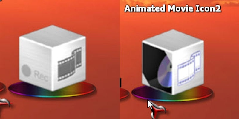 Animated Movie Icon