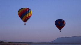 Sunset Ballooning