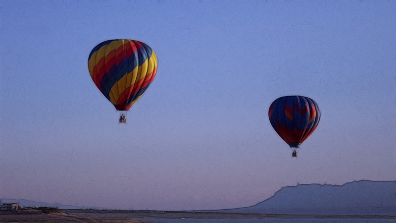 Sunset Ballooning